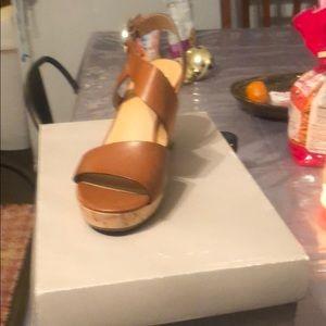 Franco Sarto Wedge sandals size 5.5 ****Never worn